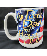 Cuppa Air Force Dad USA United States Coffee Tea Cocoa Cup Mug Container... - $22.95