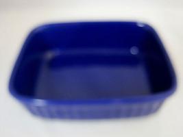 Royal Norfolk Cobalt Blue Stoneware Baking Dish Casserole - $28.95