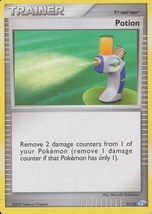 Potion 11/12 Manaphy Trainer Kit Pokemon Card - $0.89