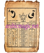 The talismanic ring of the shaitan jinn Malik Al-Nasur - $400.00