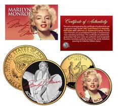 MARILYN MONROE California Quarter & JFK Half Dollar U.S. 2-Coin Set * LI... - $12.82