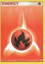 Fire Energy 10/10 Latias Trainer Kit Pokemon Card - $0.59