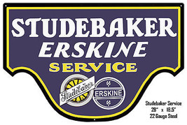 Studebaker Erskine Reproduction Metal Laser Cut Out 18.5×20 - $59.40