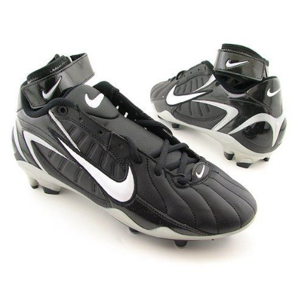 Nike Men`s Air Zoom Super Bad FT Football Cleats 14 M US Black White