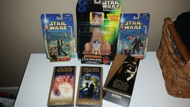 STAR WARS COLLECTION LOT ANAkIN SkYWALER R2-D2 HAN SOLO SPECIAL EDITION ... - $48.51