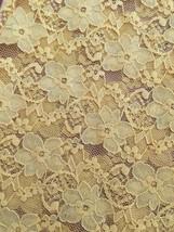 Modbe Goldenrod Lace Tank Gold Yellow Stretch Small S EUC image 2