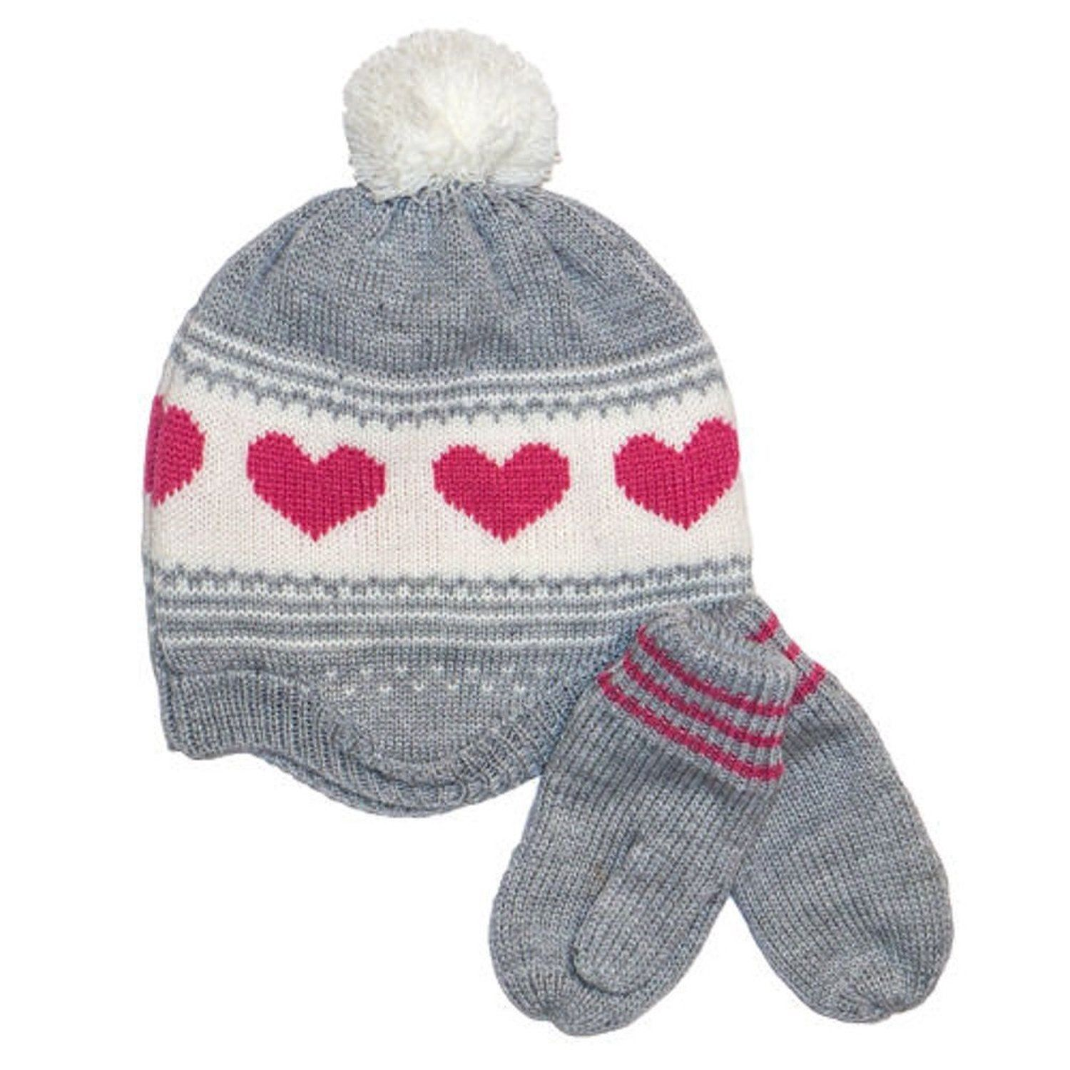 814736f48 Carters Little Girls Hat and Mitten Set and 50 similar items. S l1600