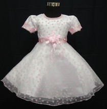 New Flower Girl Party Christening Wedding Pagea... - $16.81