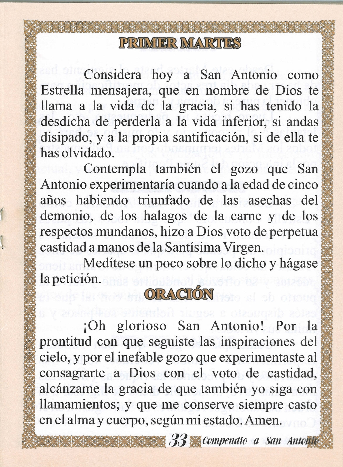 Compendio De Oraciones A San Antonio De And 50 Similar Items