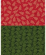 RJR Green, Red Rooster Trees, Stars, Leaves, Ch... - $16.22