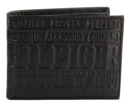 NEW TOMMY HILFIGER MEN'S LEATHER CREDIT CARD ID WALLET BILLFOLD BLACK 31TL22X034 image 3