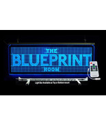Personalized Business LED Sign, Logo, Color Changing Remote Controlled - $188.10
