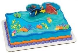 Finding Dory Adventures Cake Topper Decorating Set Birthday Dori Nemo Ki... - $28.35