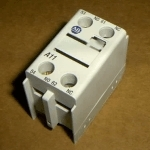 >> Generic AUXILLARY SWITCH FOR NEW STYLE CONTACTORS,1NC,1NO 330185, Huebs