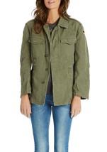 Vintage German army field moleskin shirt jacket coat olive military old ... - $30.00+