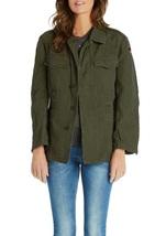 New German army field moleskin shirt jacket coat olive military old type - $35.00