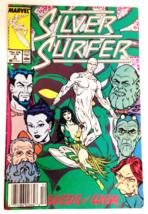The Silver Surfer #6 Seeds 0f War Marvel 1987 Vintage Comic - $6.49