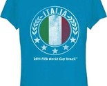 T-Shirts Size Small New 2014 FIFA World Cup Brazil Italia Juniors T-Shirt Italy