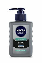 Nivea Men Oil Control All In One Face Wash Pump, 150 ml FREE SHIP - $11.39