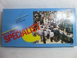 Vintage Stock Market Specialist 1982 Board Game AMEX Complete - $18.79