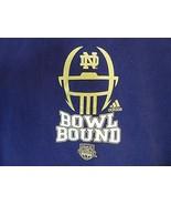 Notre Dame Hoodie Sweatshirt Bowl Bound Size Small S - $17.80