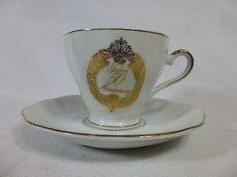 Napcoware Golden 50th Anniversary Cup Tea Coffe... - $18.79