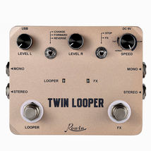 ROWIN LTL-02 Twin Looper and Recording Guitar Effect Pedal Ships Free - $85.00