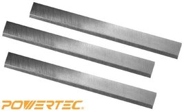 Woodworking Jointer POWERTEC HSS Knives 618 x 1116 18 for Ridgid h l w M... - $26.82