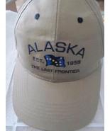 Alaska Last Frontier Khaki w/ Blue Unformed Tongass Trading Co Baseball ... - $14.46