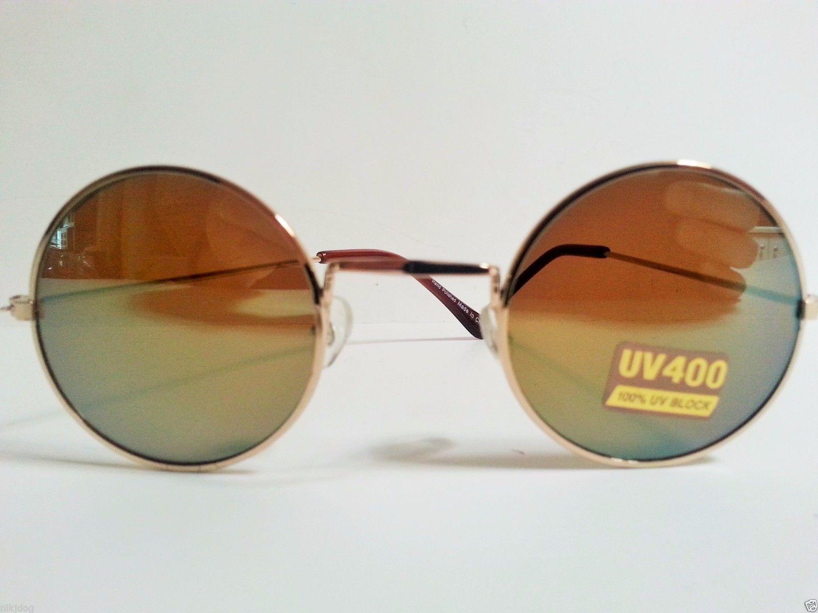 John Lennon Sunglasses Round Shades Gold Frame ...