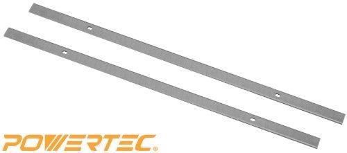 Tool Power Planer POWERTEC HSS Blades for Ryobi 13 AP1300 Set of 2 h l w Misc.