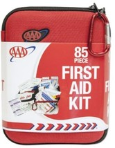 Triple AAA 85 Piece Commuter First Aid Kit Home Travel Outdoor Handy Spo... - $32.22