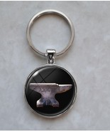 Anvil Black Smith Metal Working Pendant Keychain - $14.00+