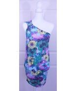 NWT BCBG Max Azria Violet Bodycon One Shoulder Blur Stretchy Club Dress XXS - $59.95