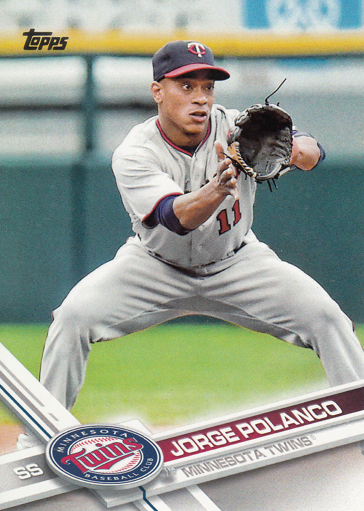 Primary image for Jorge Polanco 2017 Topps Series 2 Card #684
