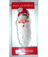 Fitz and Floyd Santa Server Platter Christmas Snack Therapy - $19.99