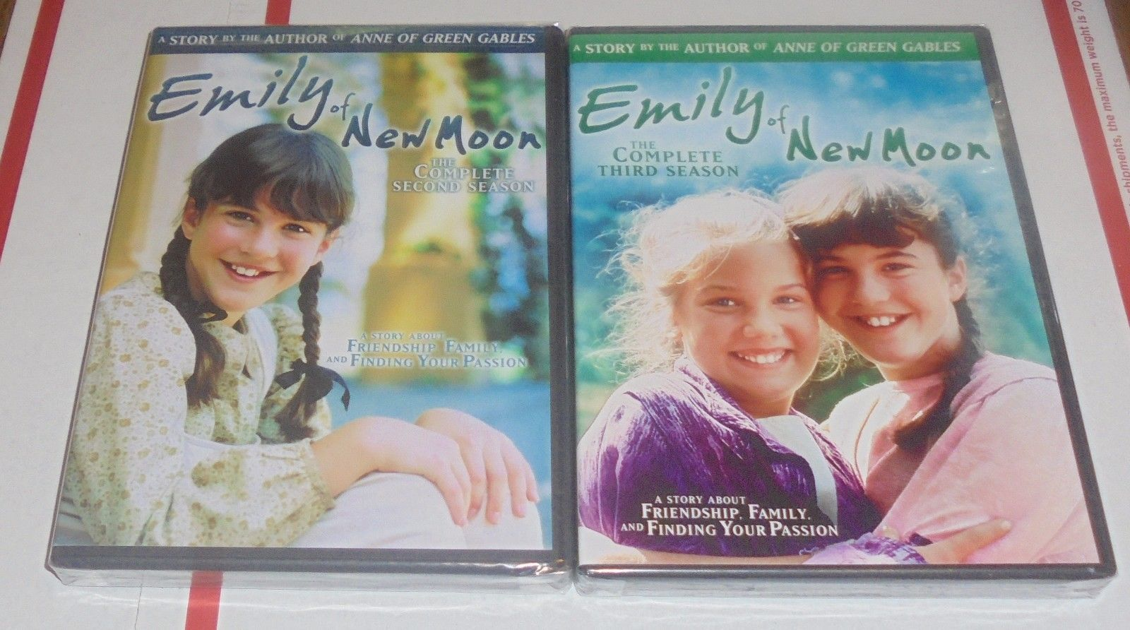 Primary image for Emily of New Moon: Complete Second & Third Season 2 & 3 DVD Lot New Sealed