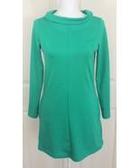 ASOS Green LS Mod Stretch Bodycon Office Dress w/Pockets Sz US 4/ UK 8/ ... - $27.95