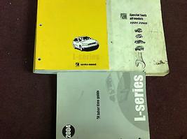 2004 GM SATURN L Series L-SERIES L200 L300 Service Shop Manual INCOMPLET... - $34.59