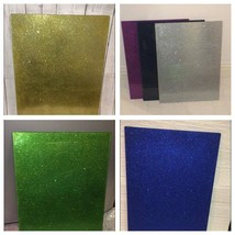 glitter glass chopping board worktop saver cutting board sparkle kitchen... - $19.71
