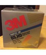 3M 3.5 Inch DS, HD Formatted IBM - $11.74