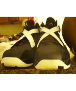 Nike Air Jordan 8.0 Size 13 basketball sneakers MULTI - COLOR strap black - $120.55