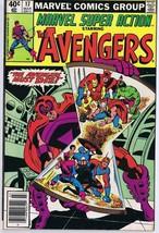 Marvel Super Action #17 ORIGINAL Vintage 1979 Comic Book Avengers - $9.49