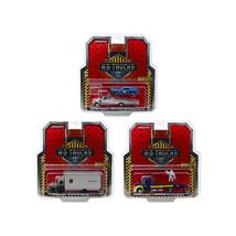 Heavy Duty Trucks Set of 3 pieces H.D. Trucks Series 15 1/64 Diecast Mod... - $64.05