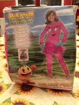 Rubies Pac-Man Pinky & The Ghostly Adventures Deluxe Costume Complete Br... - $15.83