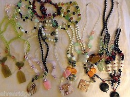 Lot of Bracelets and Necklaces w/ Varying Colors and Sizes LOT # 103