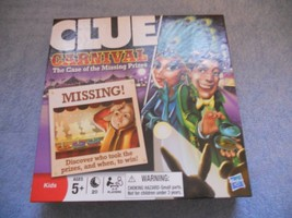 Carnival Clue The Case of The Missing Prizes Hasbro Family Board Game Fu... - $11.02