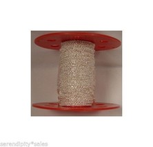 10 Feet 2.2mm Silver Plated Cable CHAIN ~ Nickel + Lead Free ~ Copper Base - $8.23