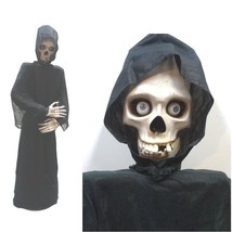 Halloween Skeleton Prop, Animated and Life Size - $389.95