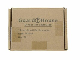 Guardhouse Dime 18mm Direct Fit Coin Capsules, 50 pack - $21.99